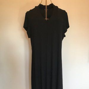 Eileen Fisher short sleeve jersey dress
